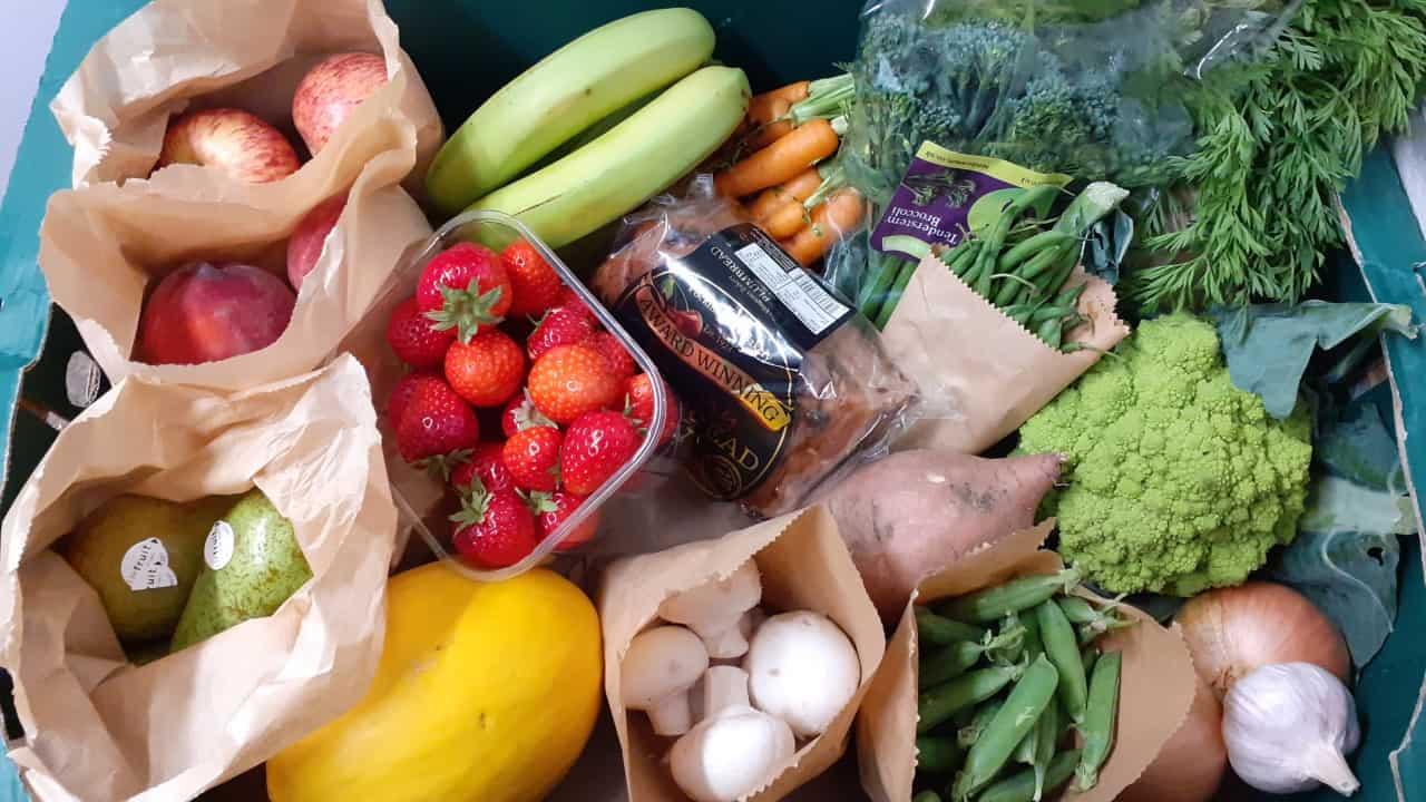 Seasonal Fruit And Veg